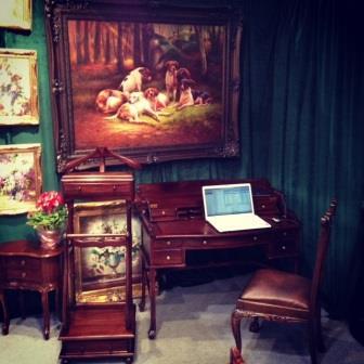 кабинетный стол бюро арт 15312 и стул, кабинет руководителя